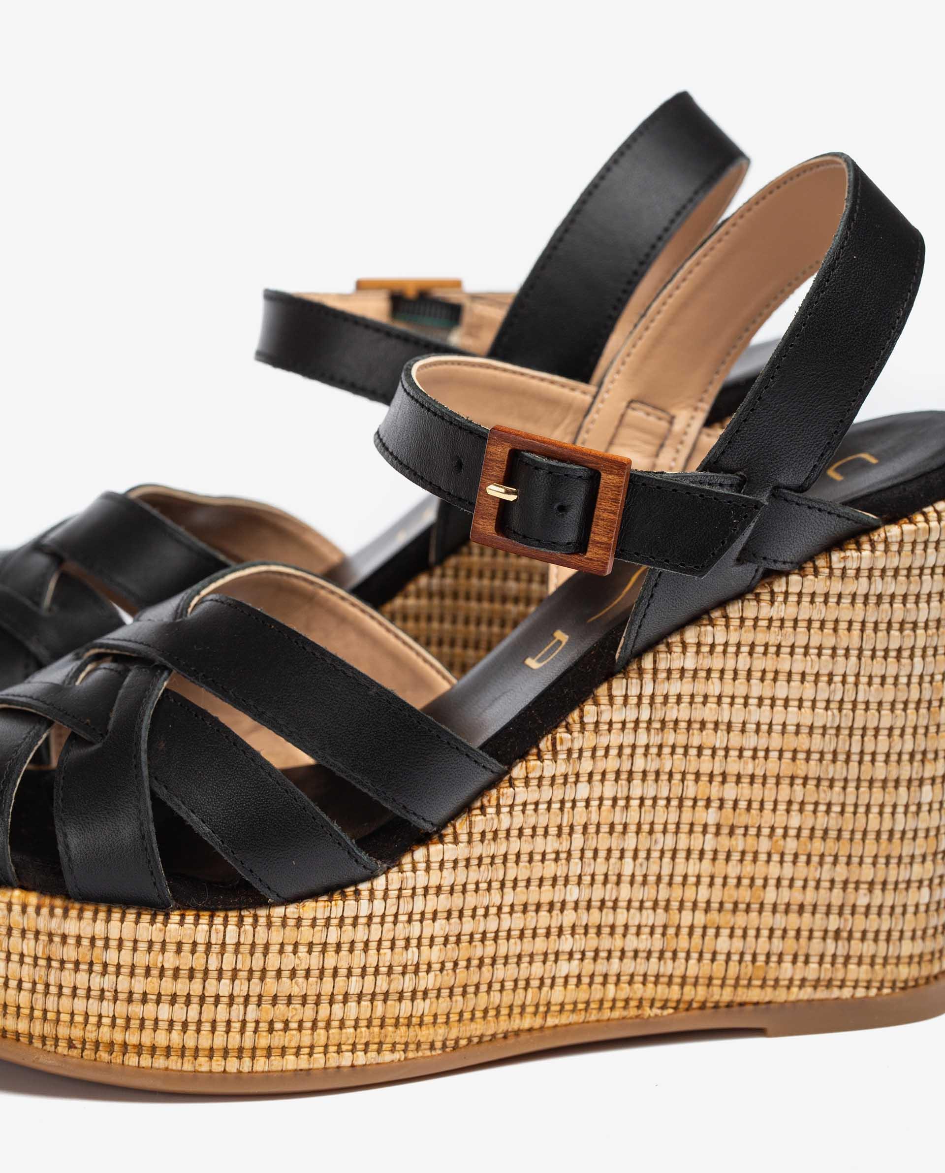 UNISA Strappy wedge sandals MASTIL_RAN 2