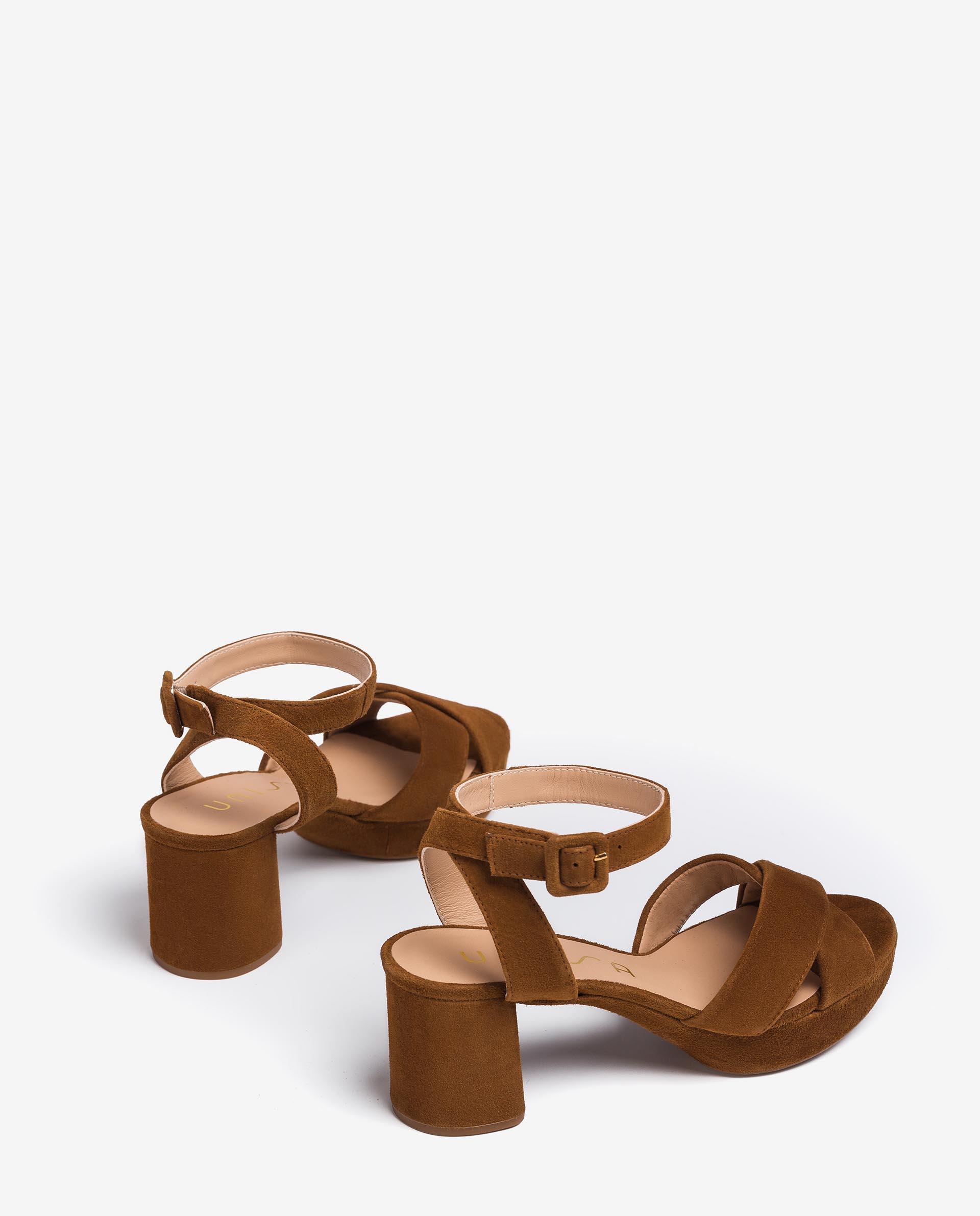 UNISA Kid suede strappy sandals NOVILLA_KS 2