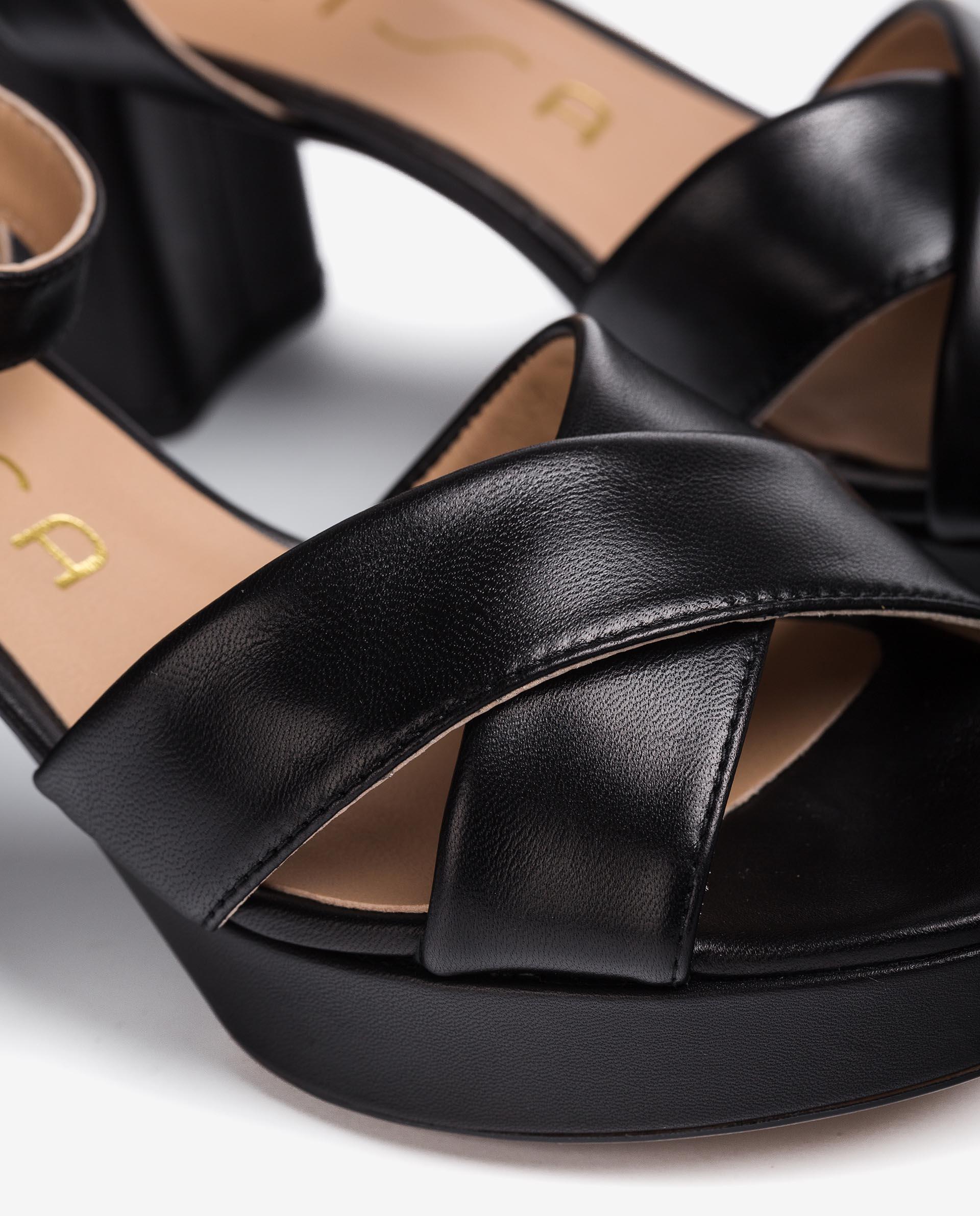 UNISA Leather strappy sandals NOVILLA_NA 2