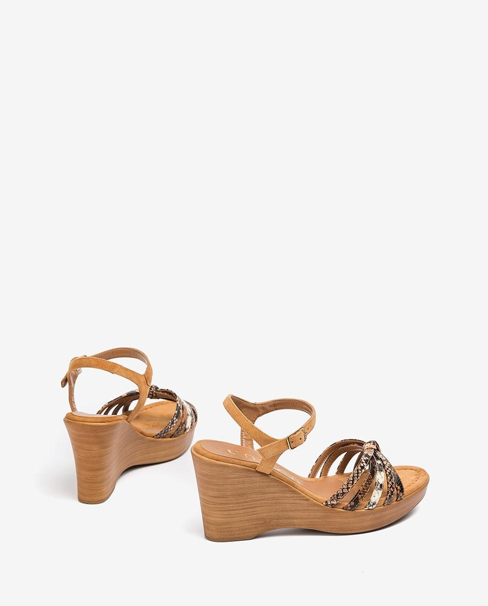 UNISA Contrast straps sandals RAMIREZ_VIP_KS tek/sun/na 2