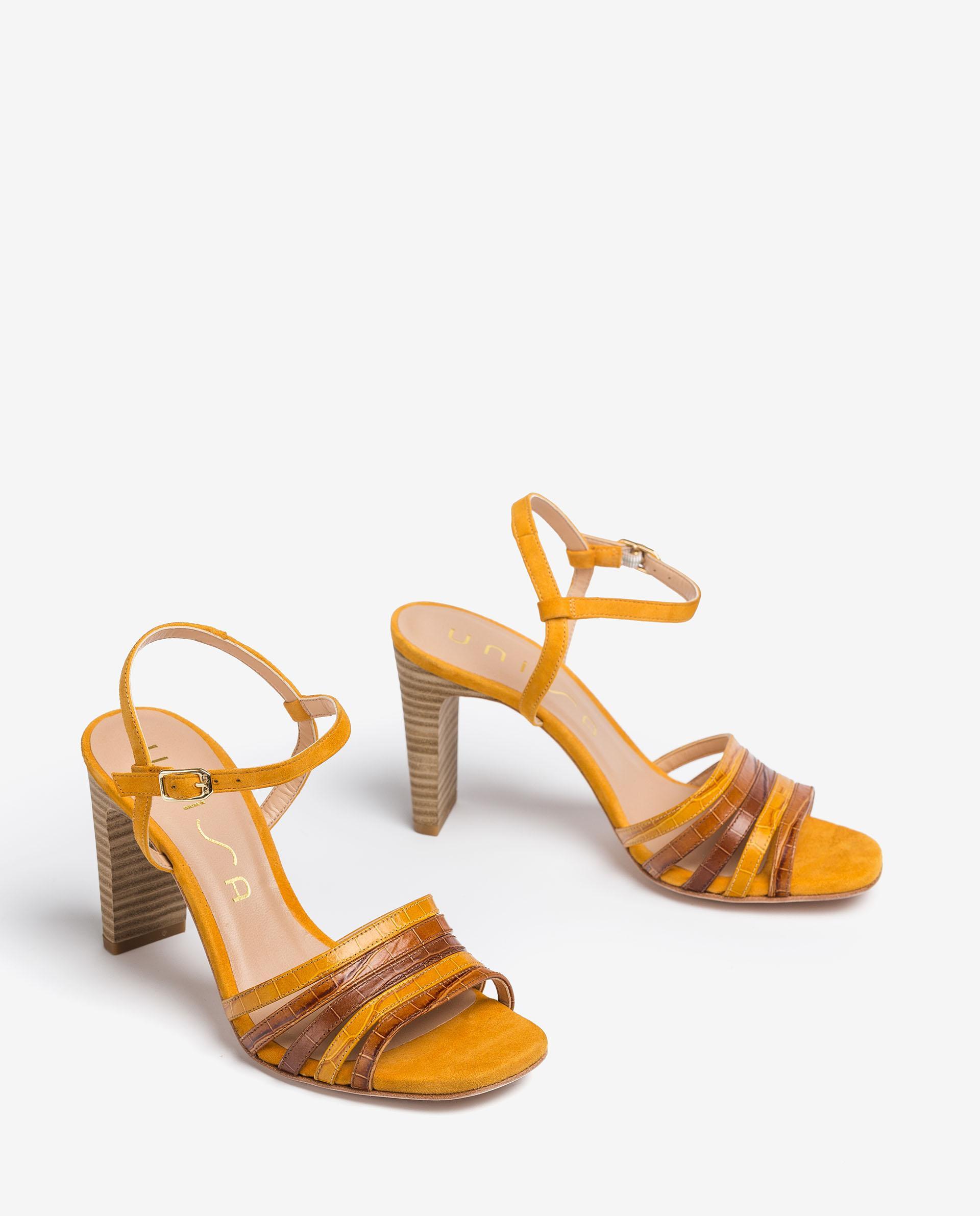 UNISA Contrast sandals with high heel SALDES_LAU_KS 2