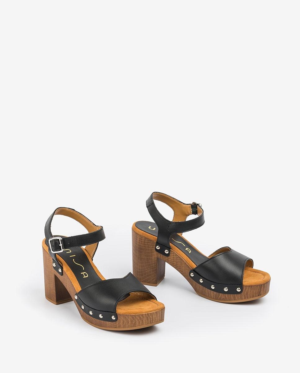 UNISA Studs block sandals TACO_21_RAN 2