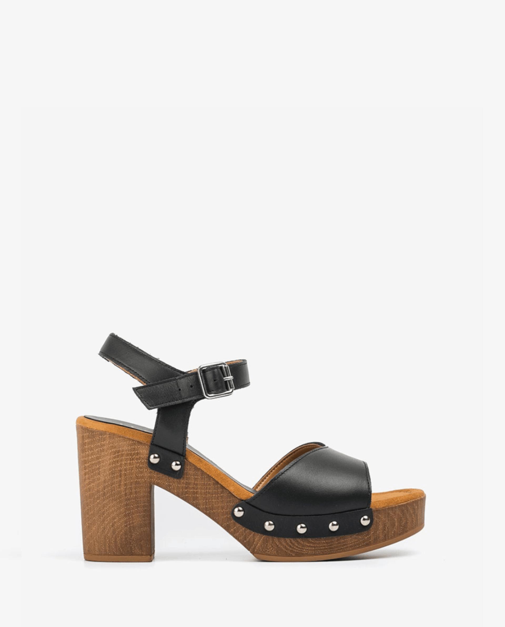 Unisa Sandals TACO_21_RAN black