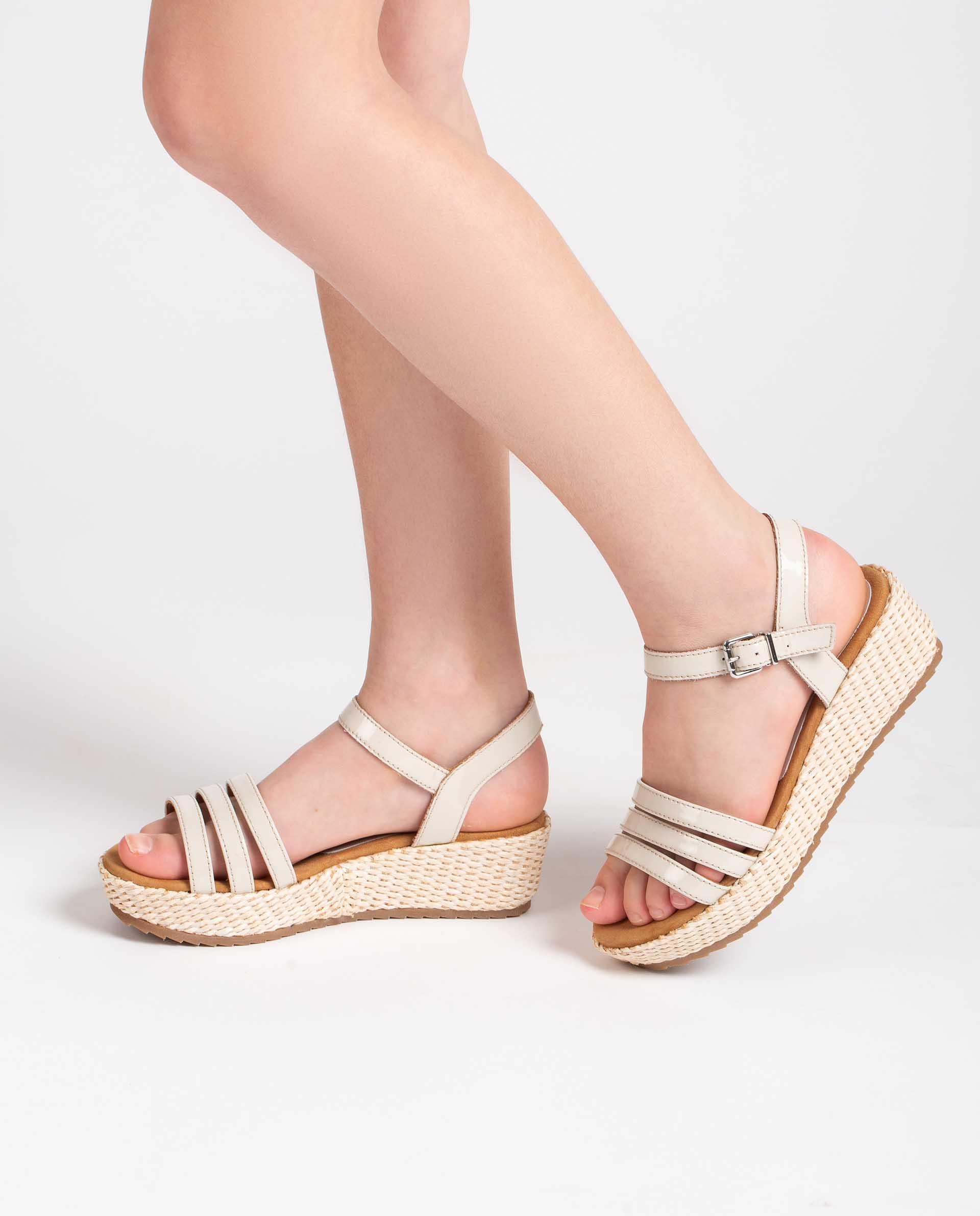 Unisa Sandals TALENT_R_21_PA ivory