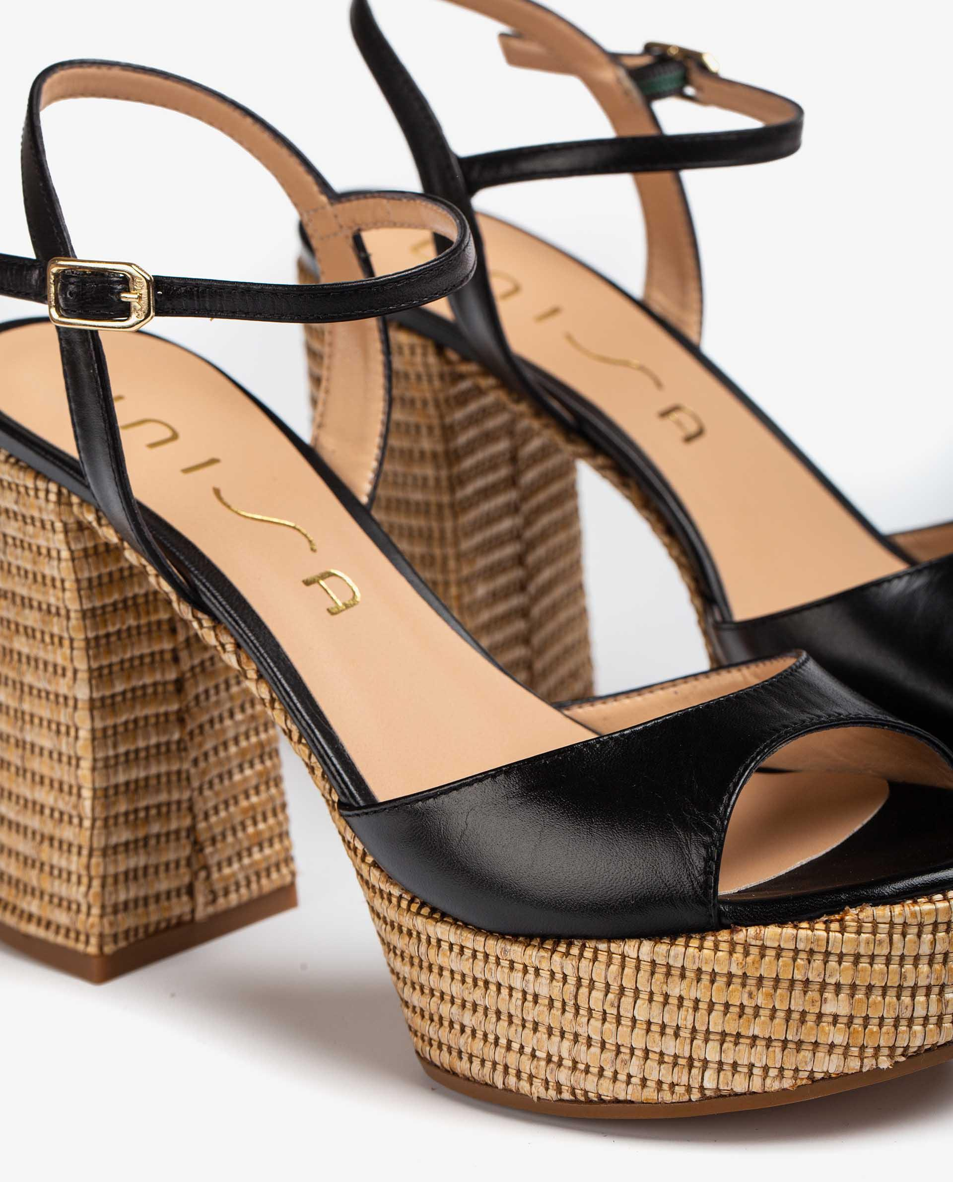UNISA 70's style heel and platform sandals VEGARA_21_NA_RR 2