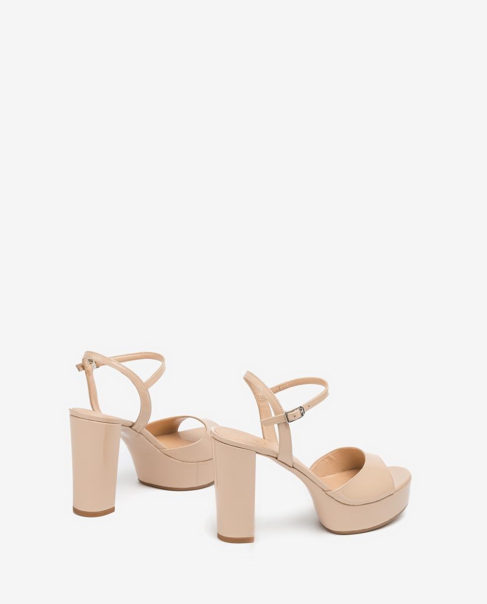 UNISA Platform nacar sandals VEGARA_PA nude 2