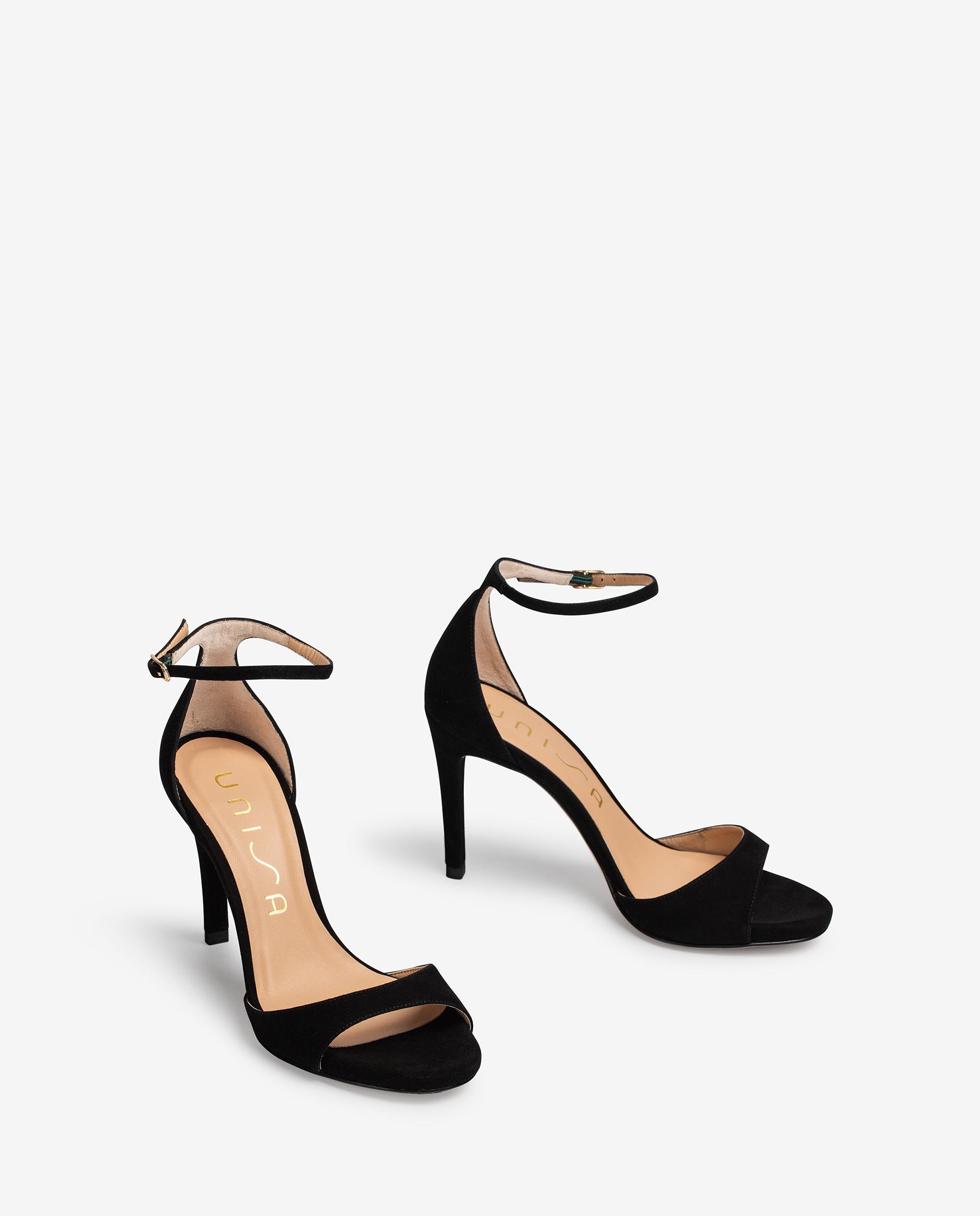 UNISA Kid suede high heel sandals YAGUE_KS 2