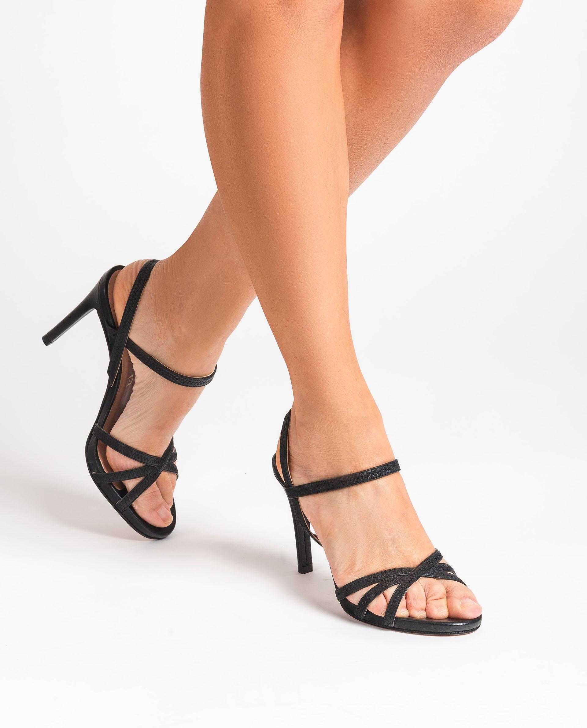 UNISA Leather high heel sandals YAMALI_NS 2