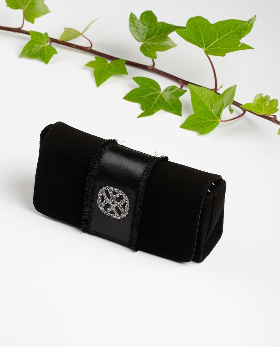 UNISA Swarovski handbag with monogram ZDREAMER_KS black 2
