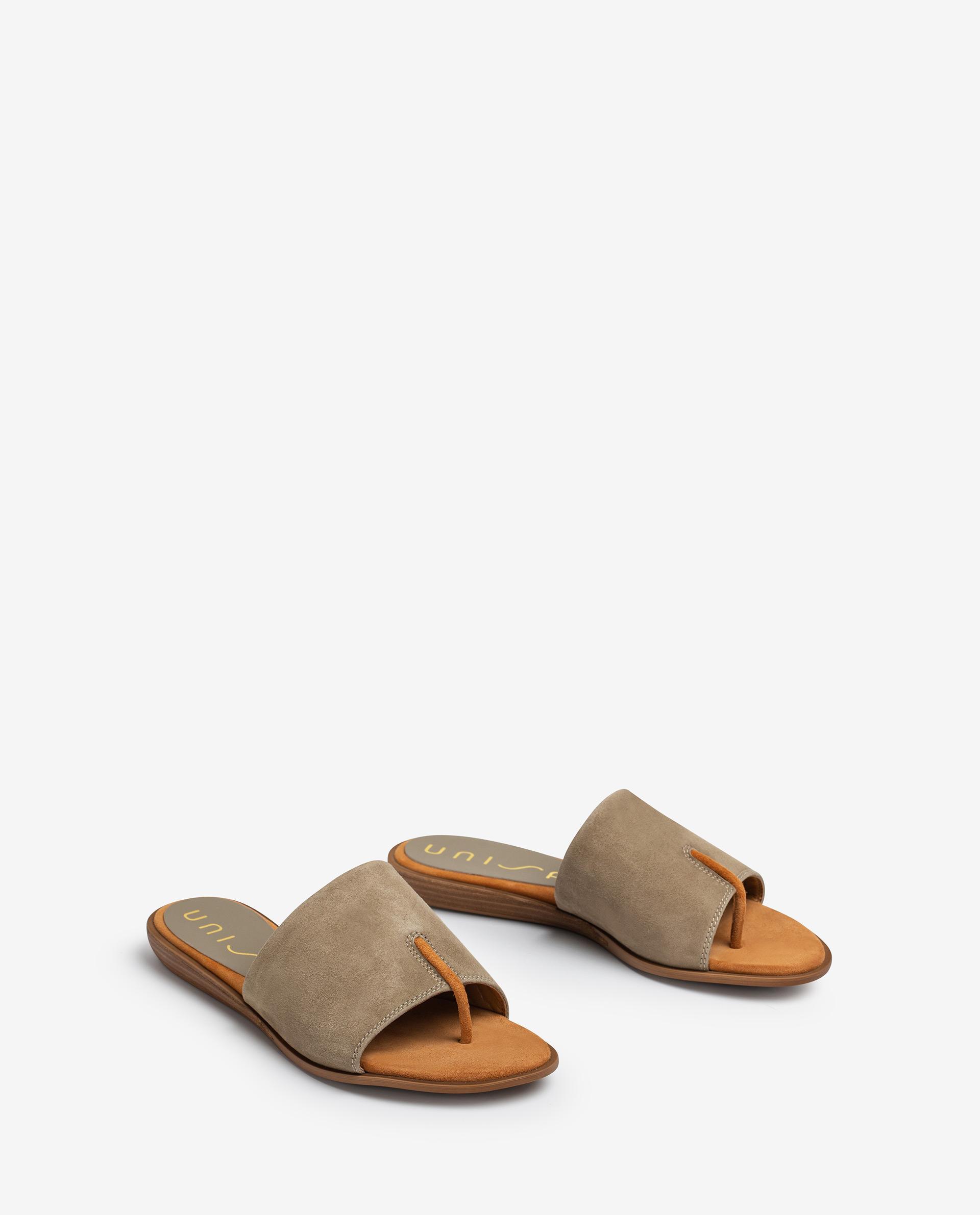 UNISA Thong type kid suede sandals ACHO_21_KS 2