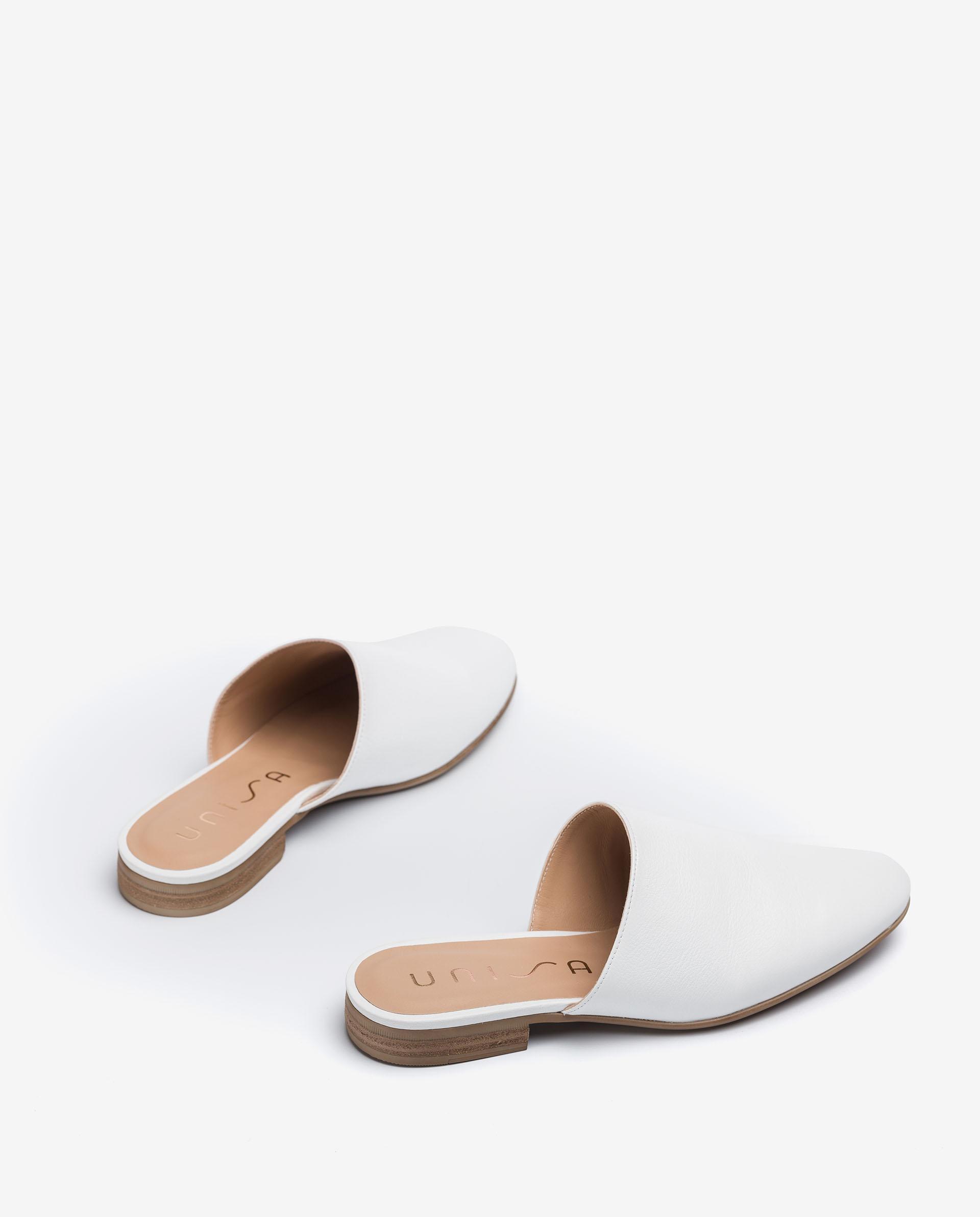 UNISA Leather slingback loafers DOJAN_CRE 2