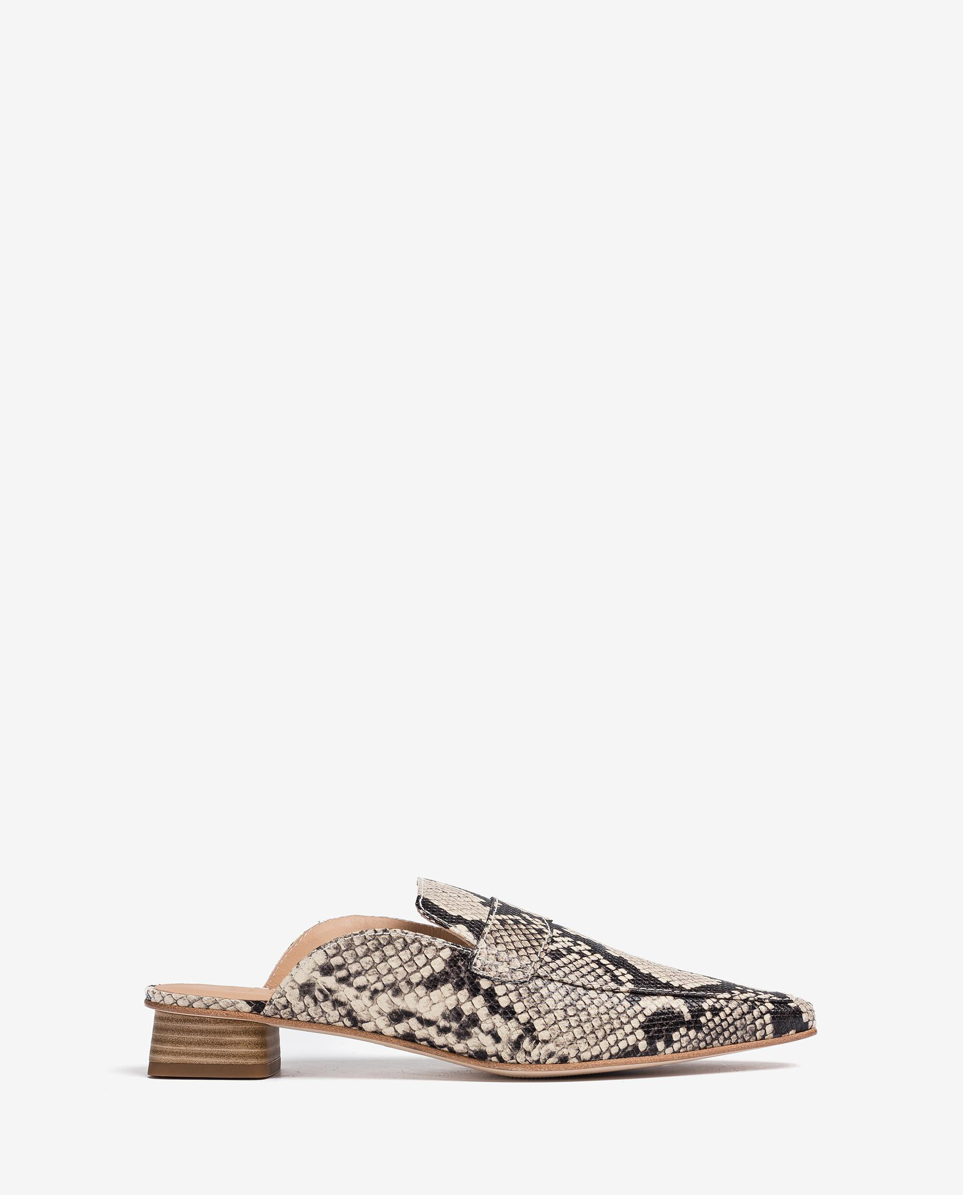 UNISA Slingback loafers with square heels GAVA_VIP 2