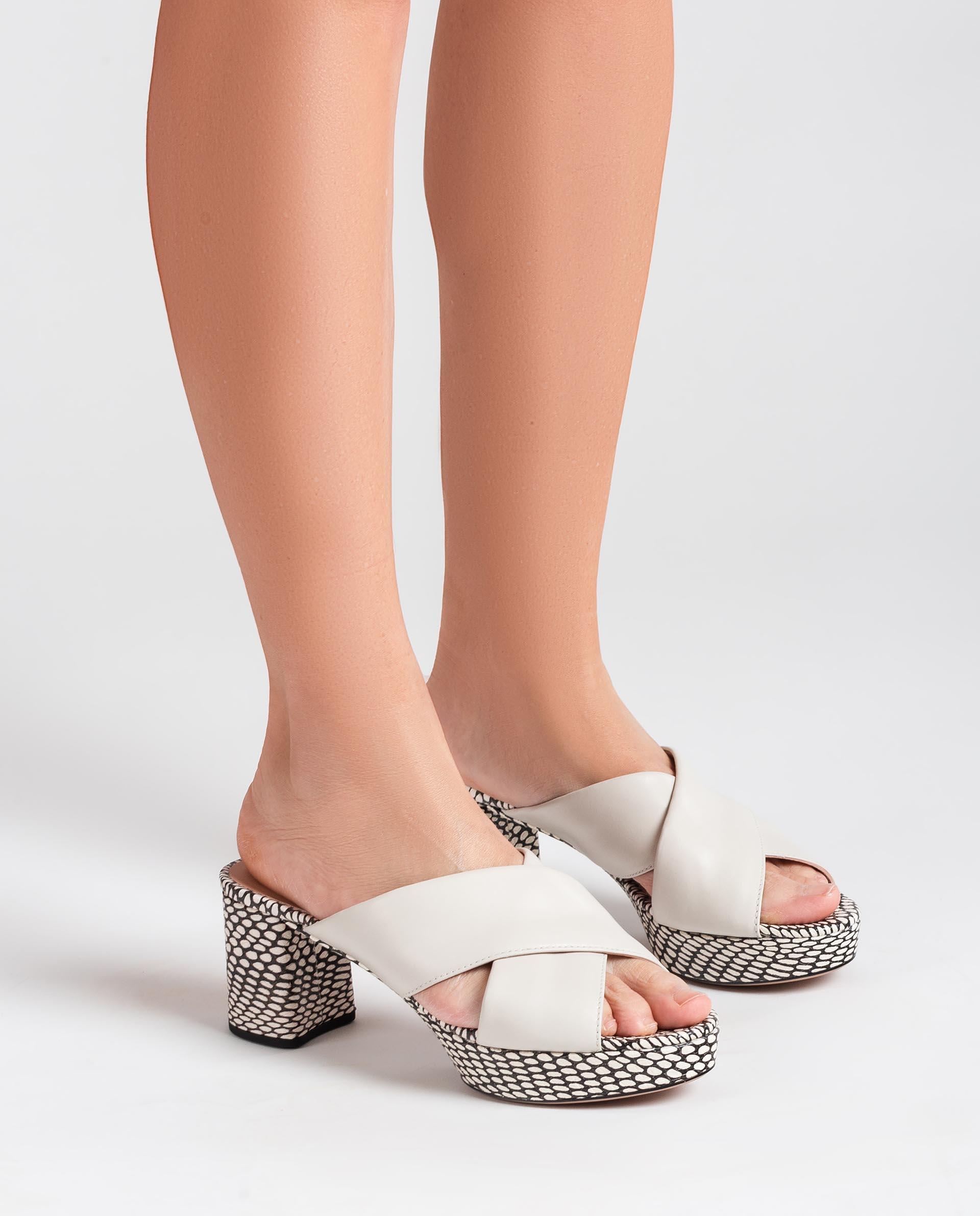 UNISA Leather slingback sandals NALINI_NA_MA 2