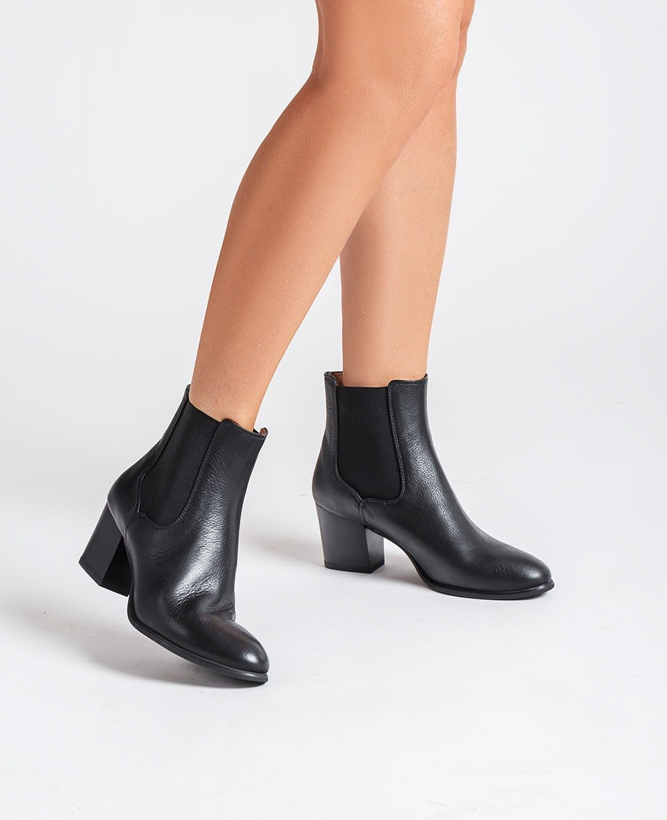 Unisa Ankle boots MAZE_CRE black