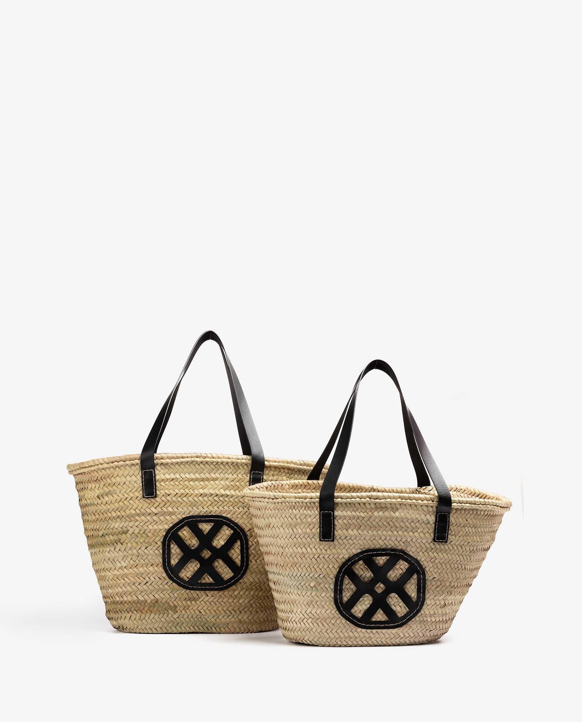 Unisa Medium-handbag ZCARRYCOT_M black/natu