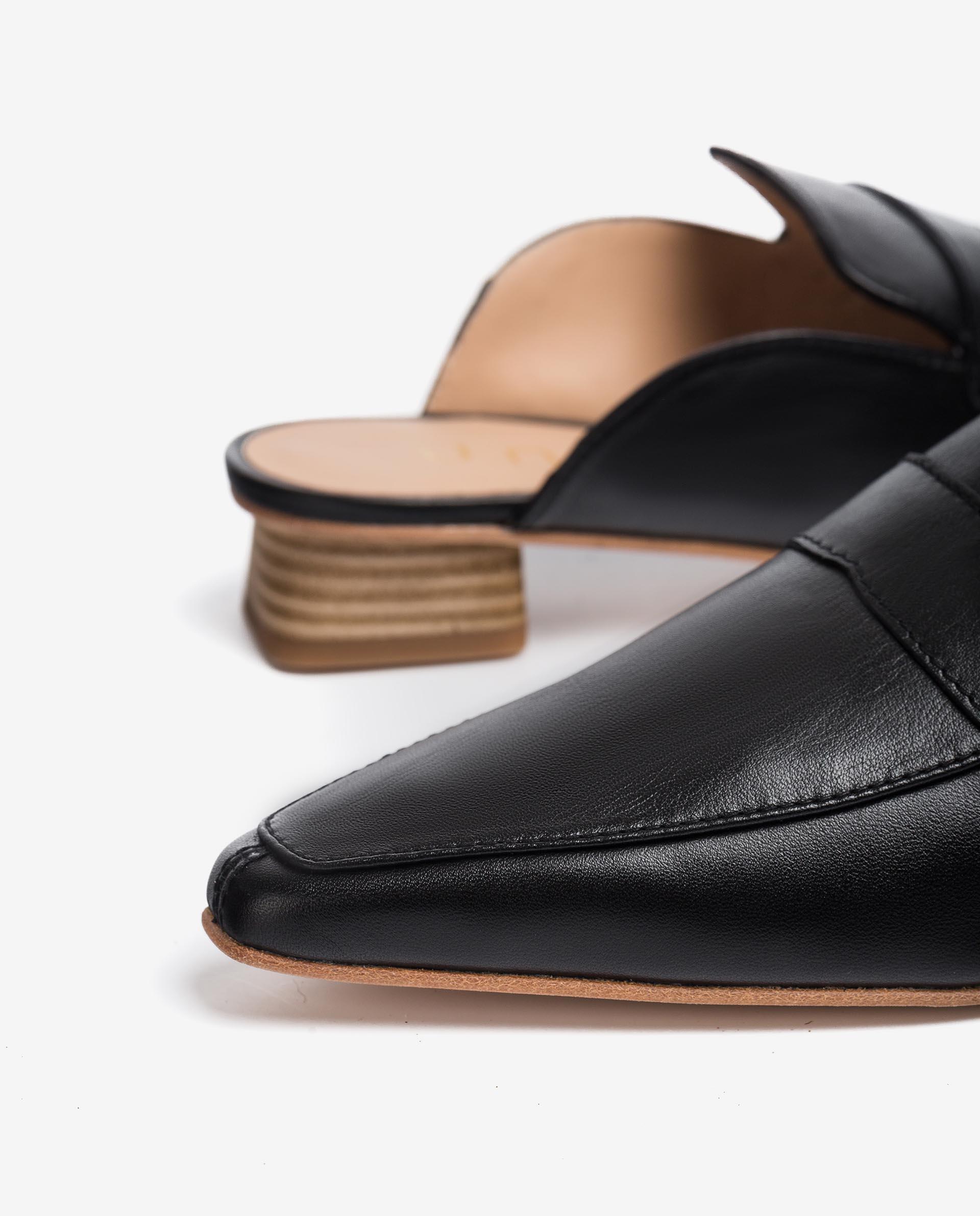 UNISA Leather slingback loafers GAVA_MOA 2