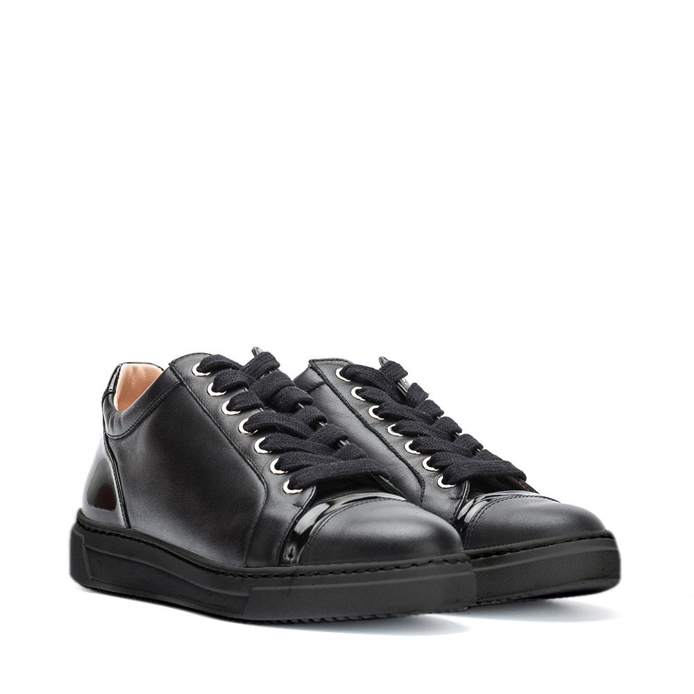 UNISA Black contrast sneakers FIYOLA_BLACK_F19NTPA black 2