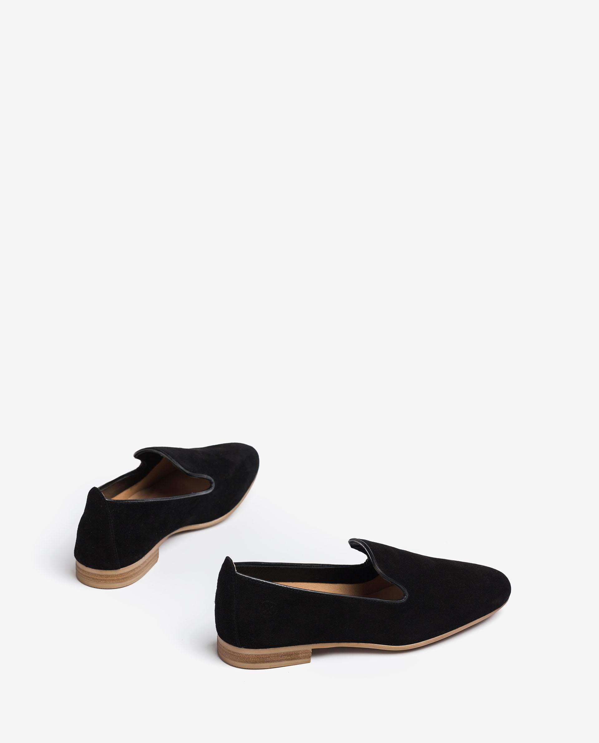 UNISA Kid suede slippers with monogram details DAYA_KS 2
