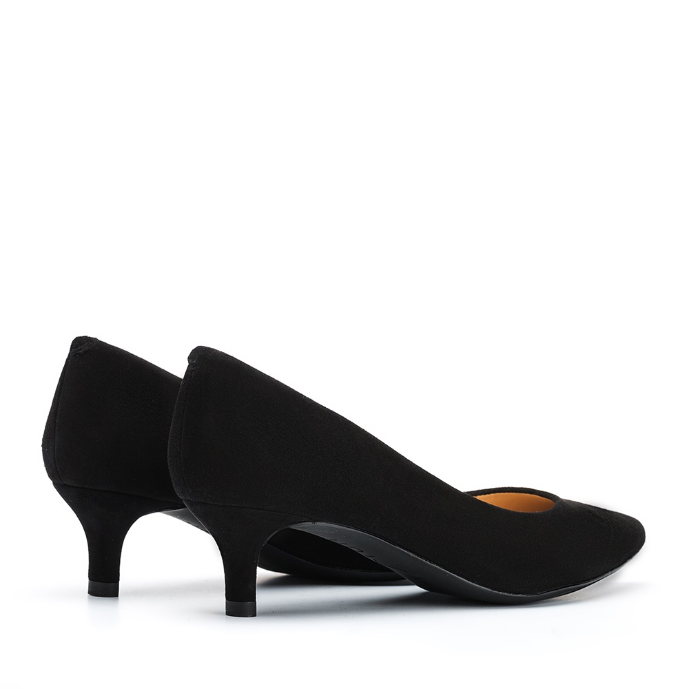 UNISA Low heel kid suede pumps JIRON_F19_KS black 2