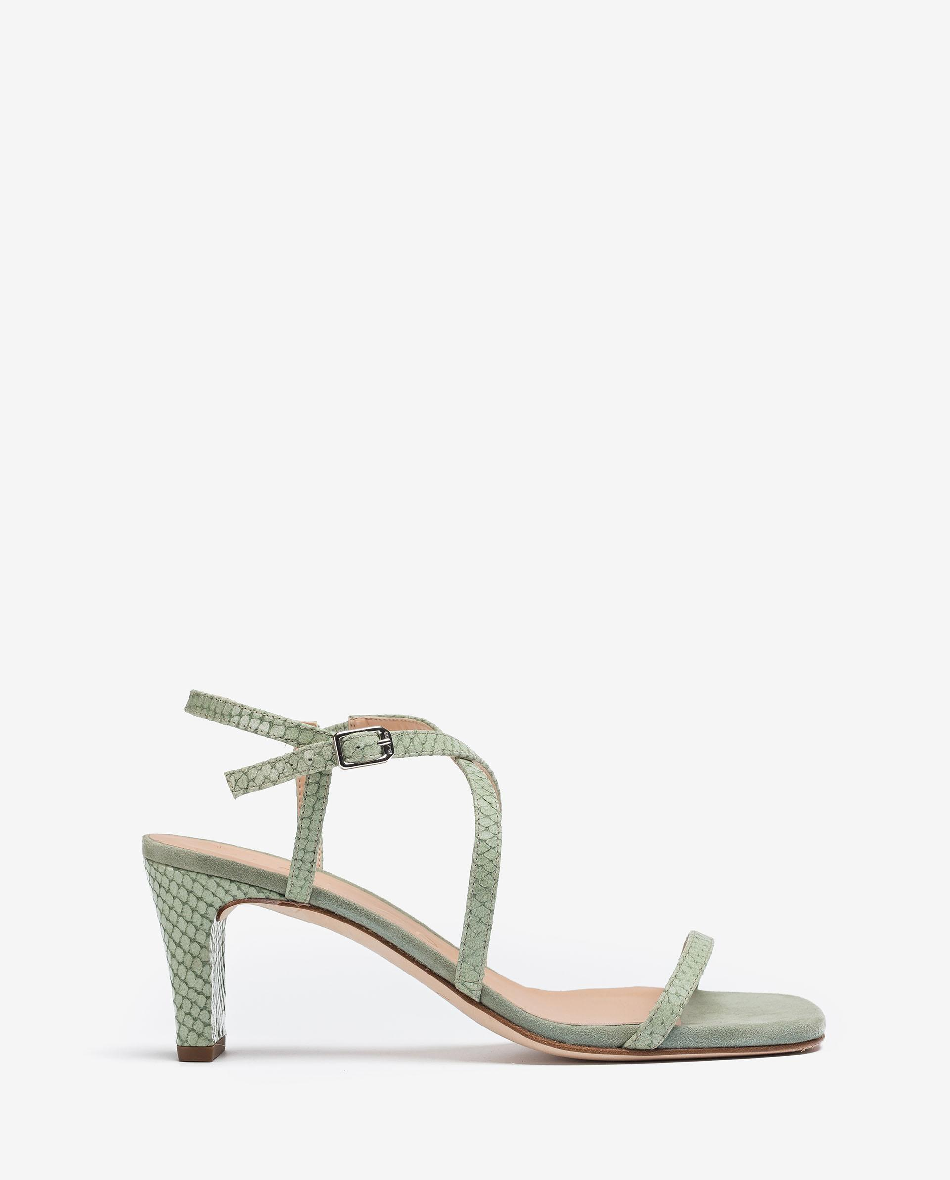 UNISA Crossed straps thong sandals MONROY_NEF 2
