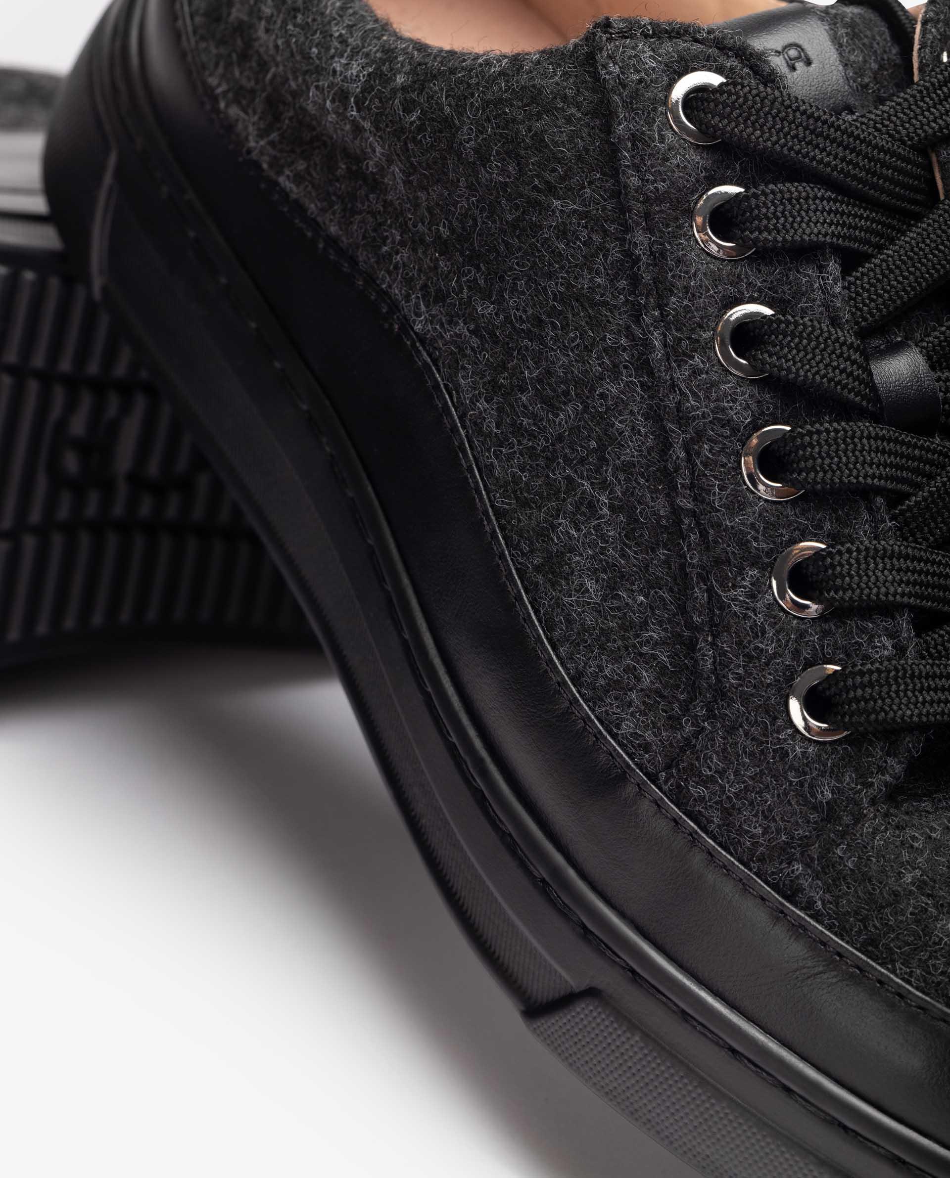 UNISA Ecowool fabric sneakers FEIJO_EW 2
