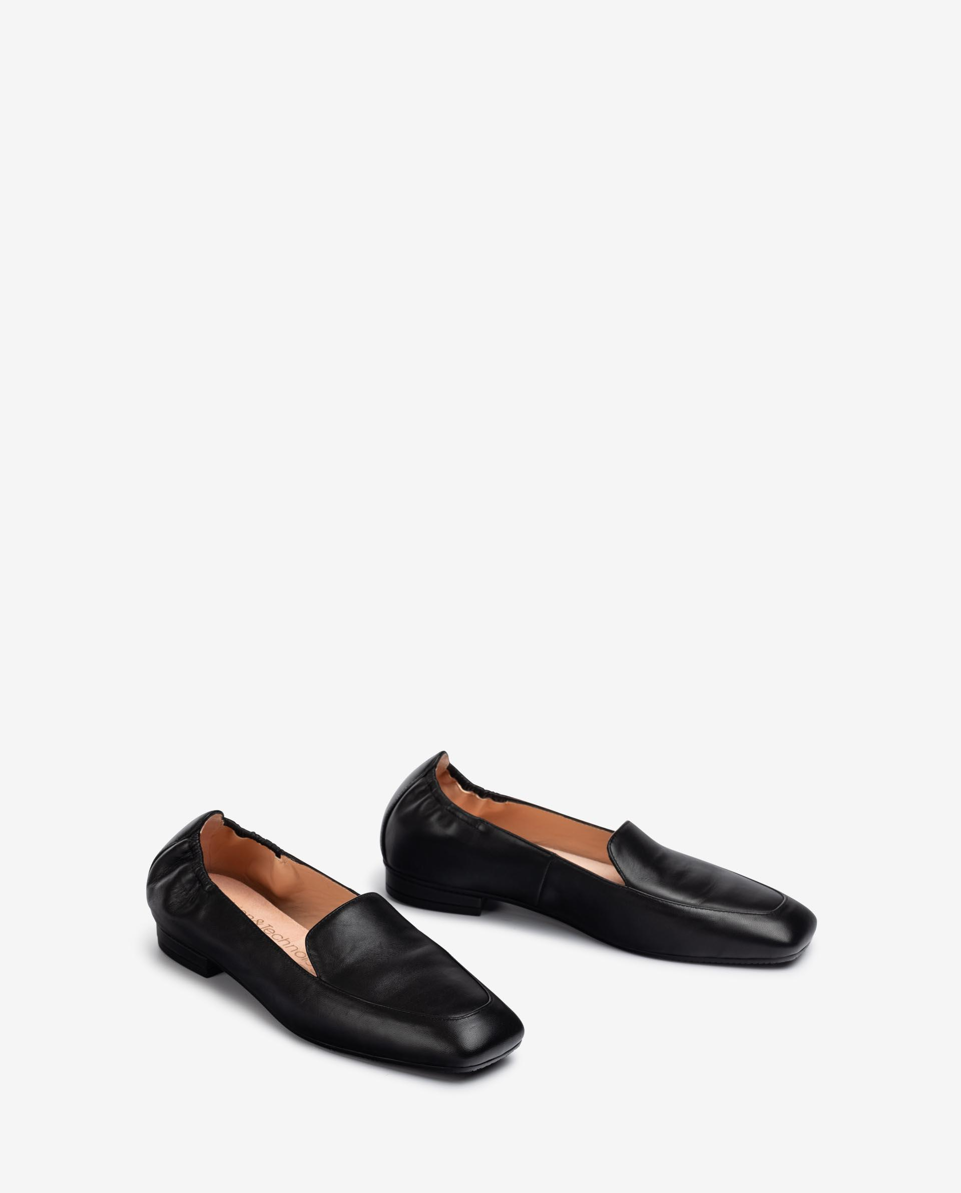UNISA Low heel leather loafers BOABO_NS 2