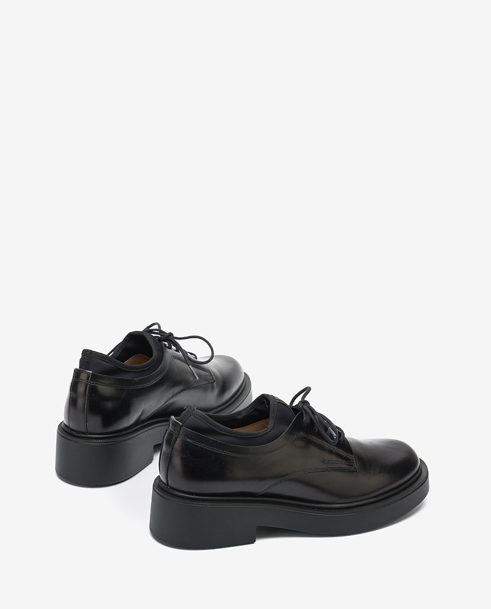 UNISA Women´s platform Oxford shoes EXTRA_NE black 2