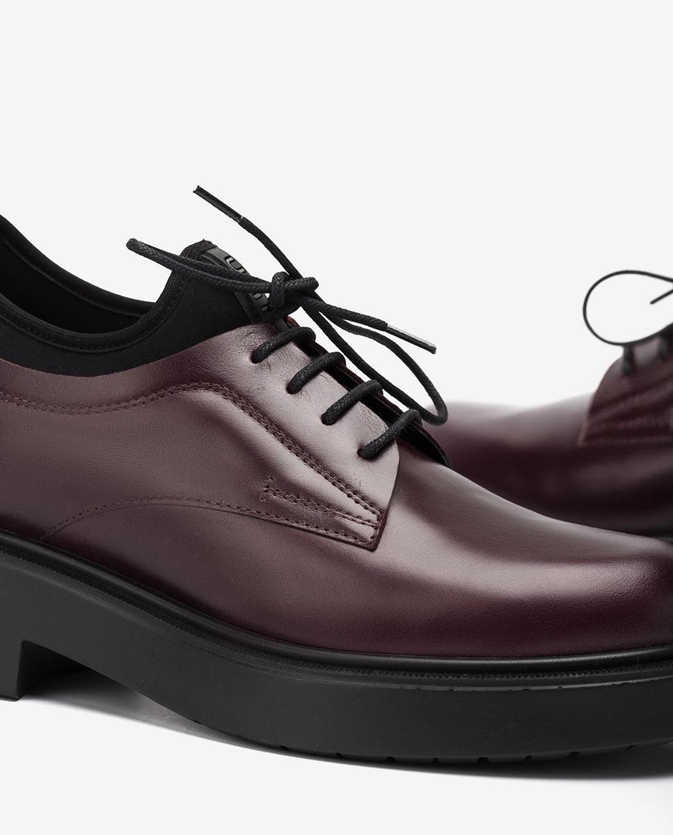 UNISA Women´s platform Oxford shoes EXTRA_NE grape 2