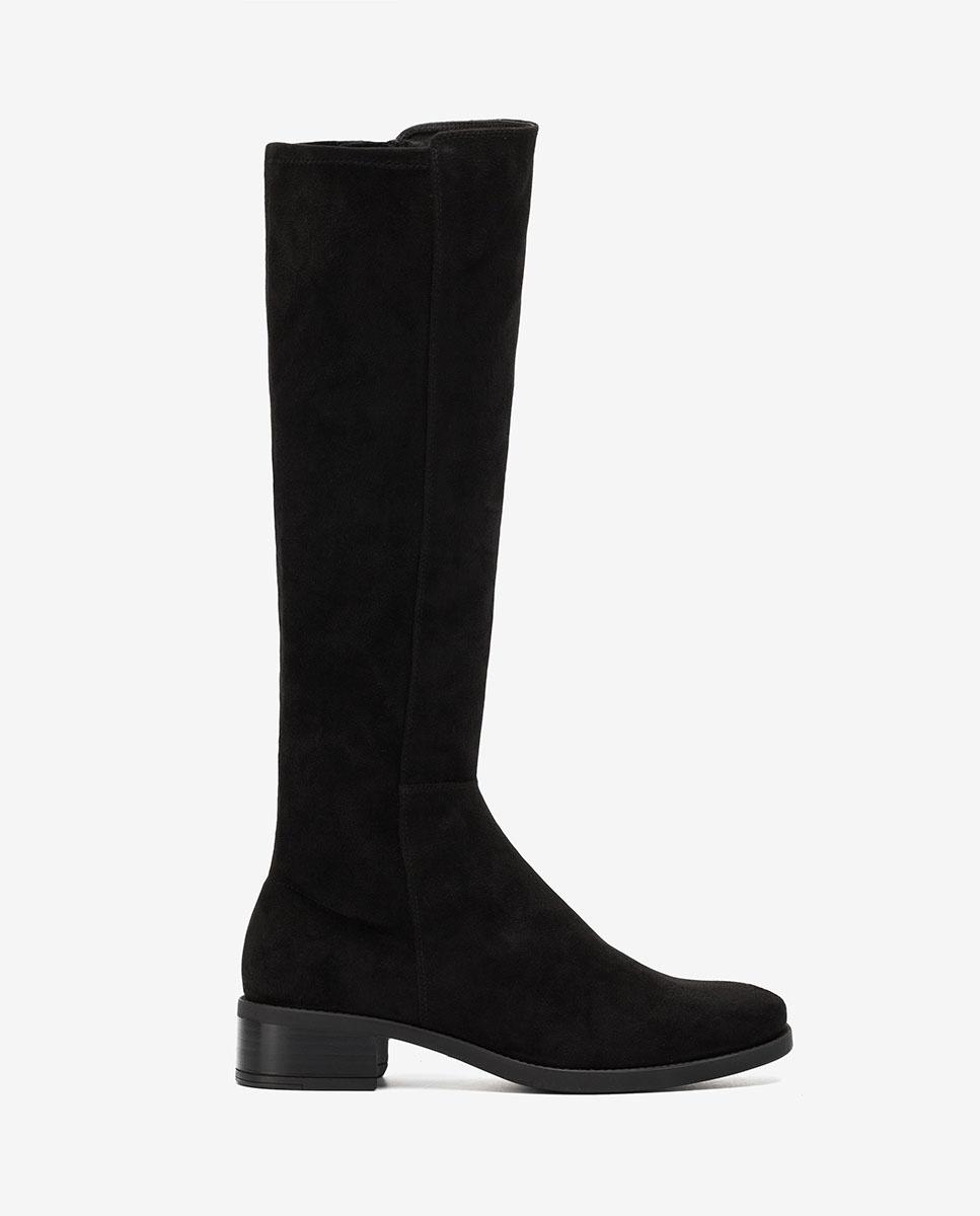 UNISA Flat elastic boots ELIZA_F20_ST black 2