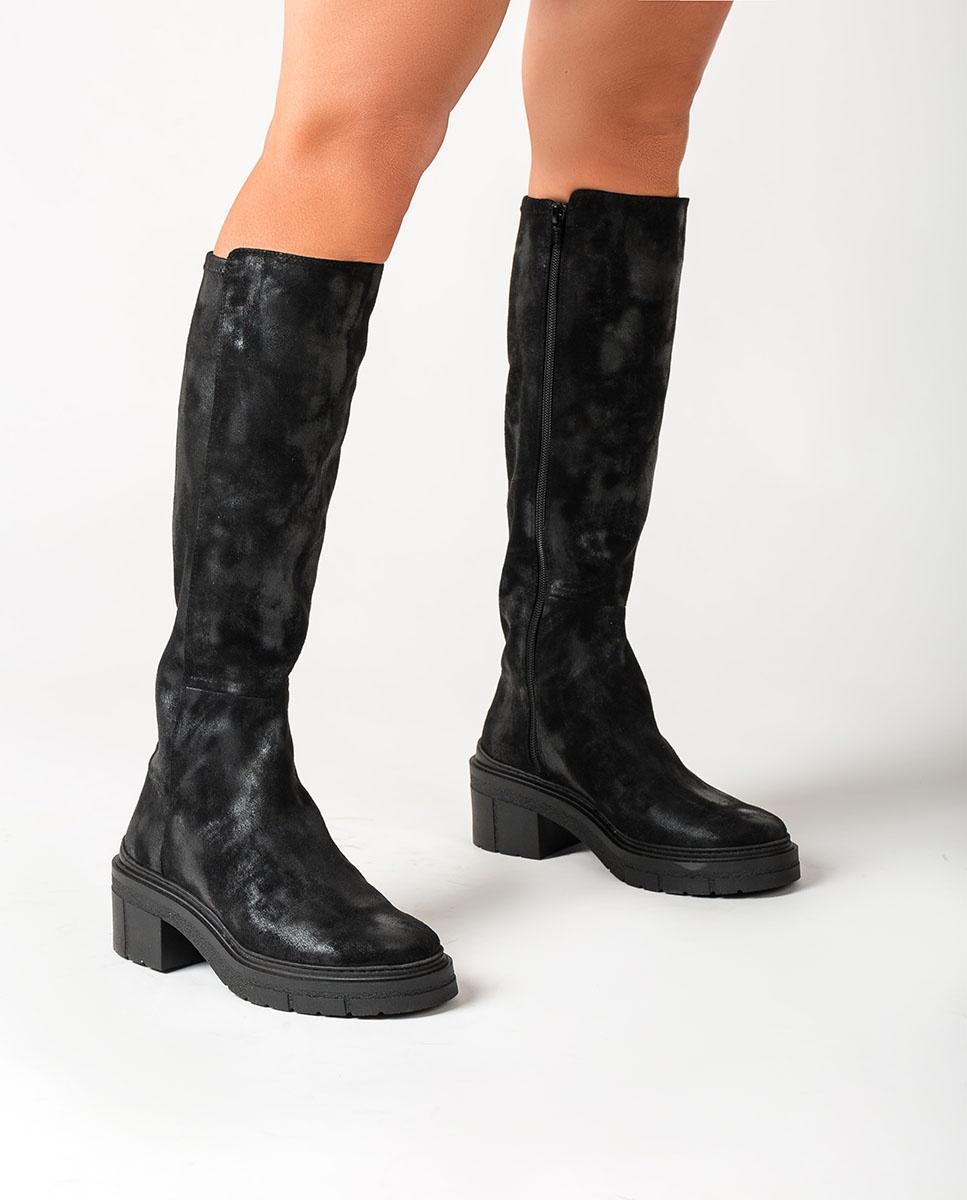 UNISA Track sole boots JESICA_STG black 2