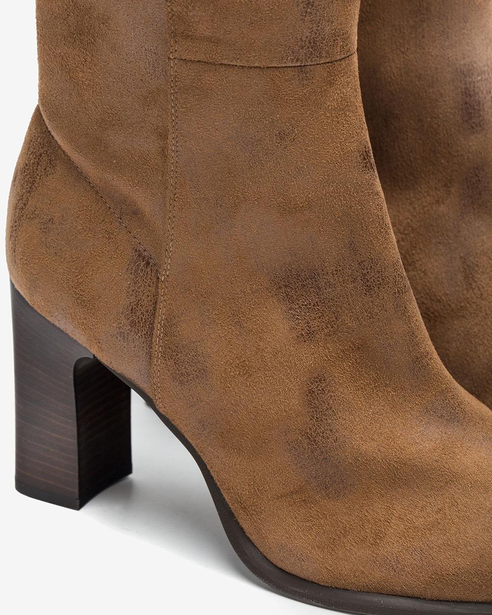 UNISA Heeled elastic boots UNITE_STG cumin 2