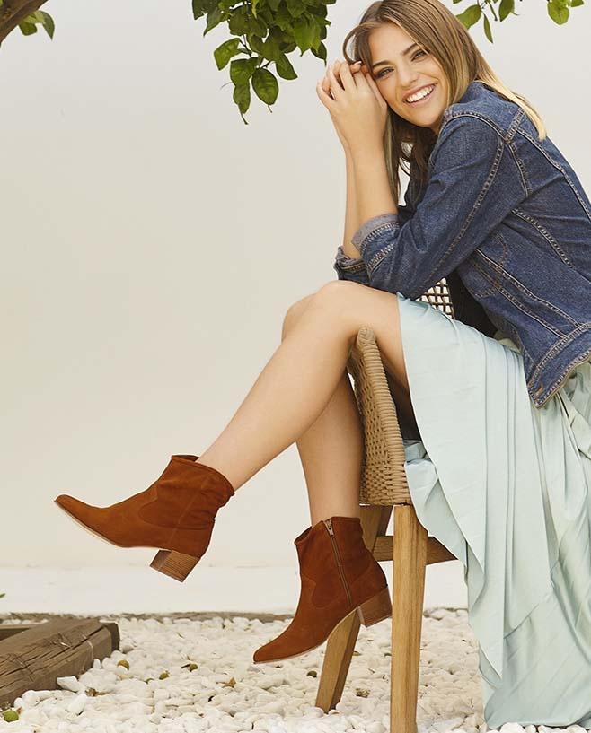 Unisa Ankle boots GALVEZ_KS argan