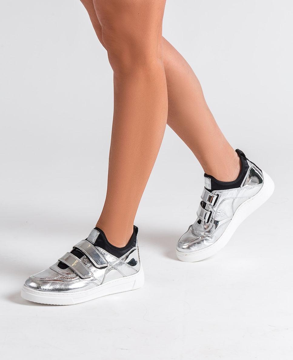 UNISA Silver sneakers FEDISA_MER silver 2