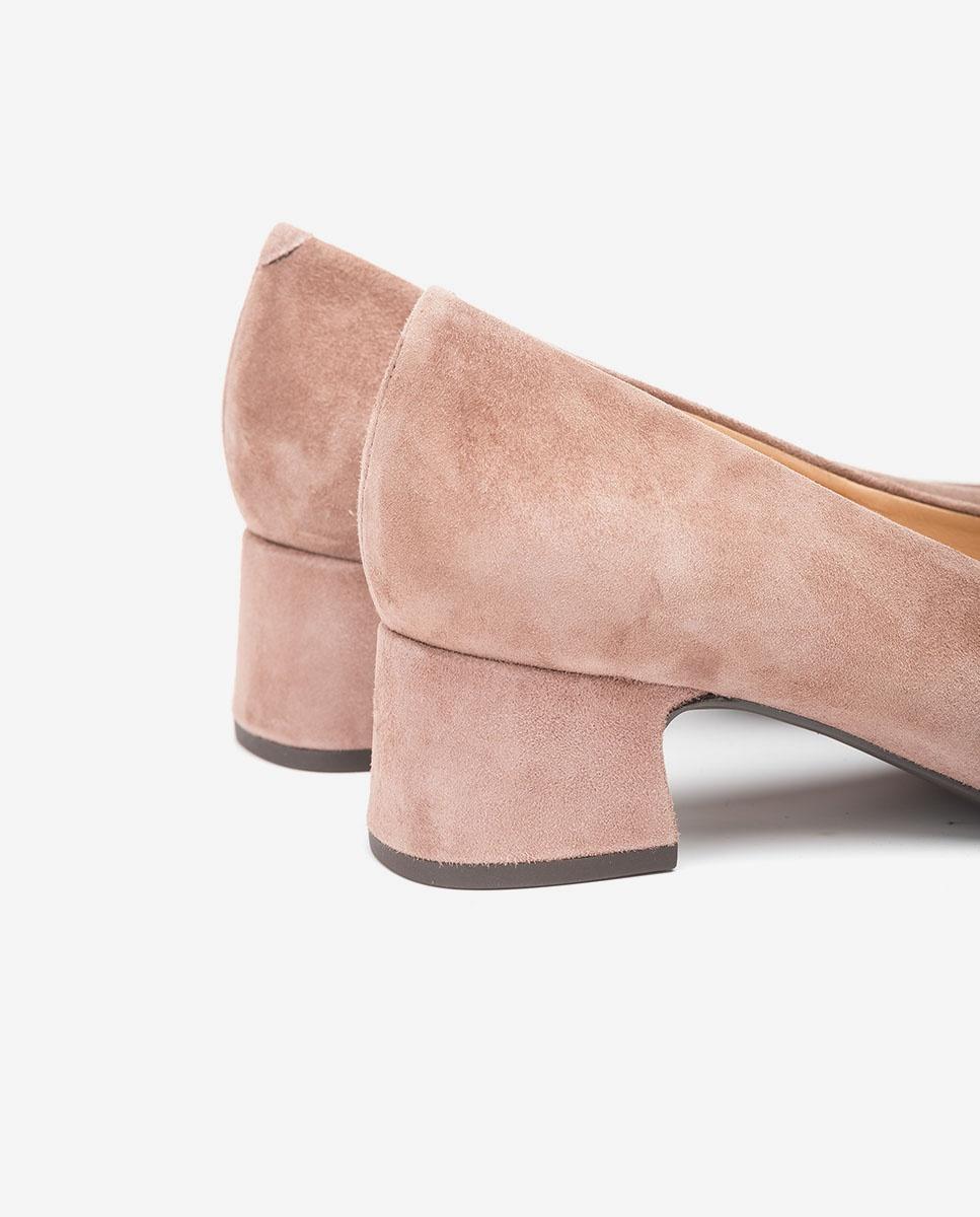 UNISA Kid suede pumps low heels LOREAL_F20_KS seal 2