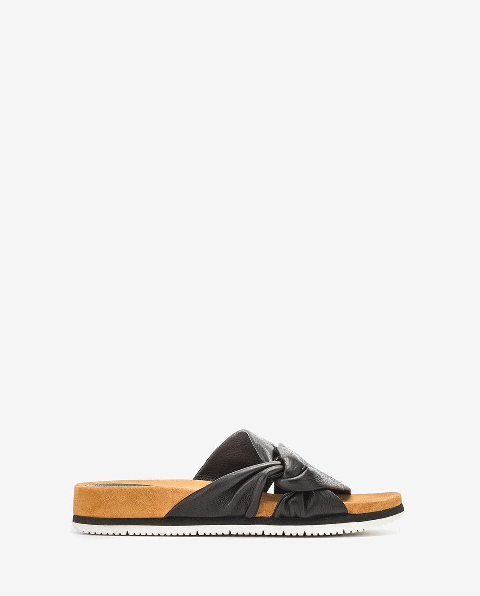 UNISA Tubular straps sandals CHELIN_STY  black 2