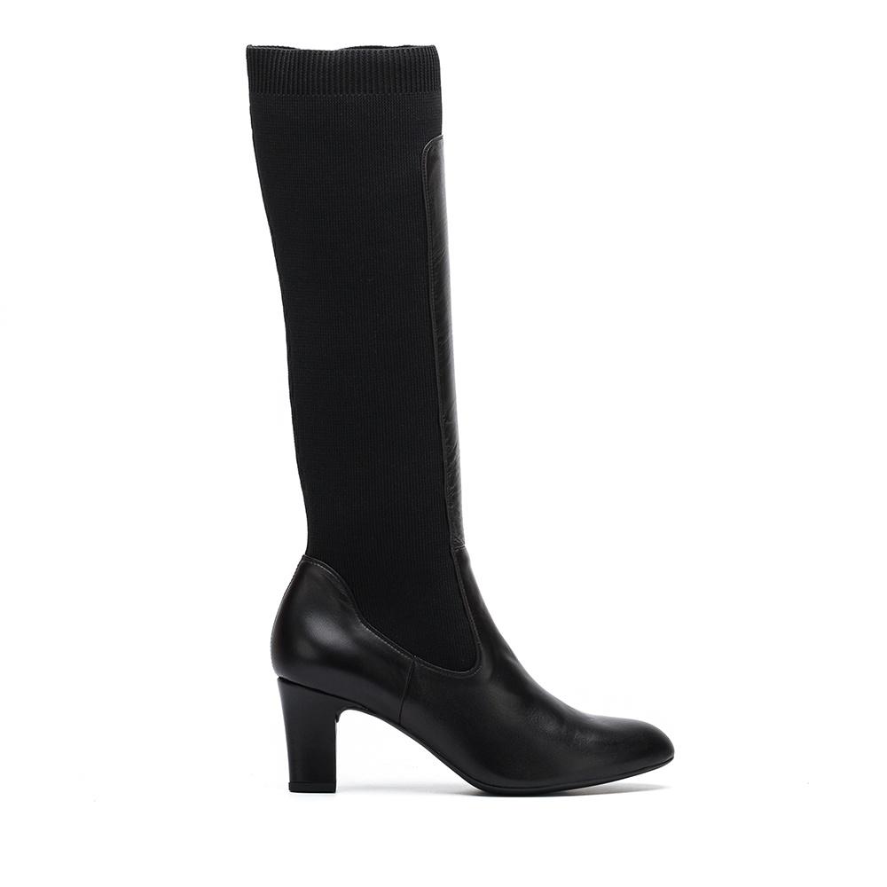 UNISA Bota contraste calcetín canalé MAGE_NA black