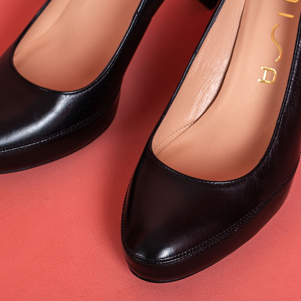 UNISA Classic high heel leather pumps NUMAR_CLASSIC_F19_NA black 2