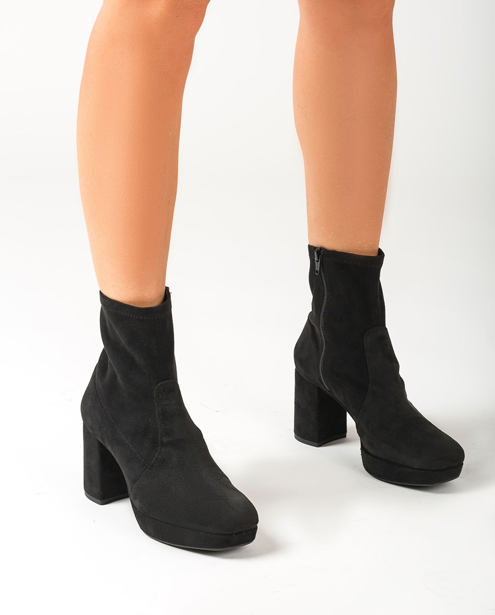 UNISA 70s stretch ankle boots MAHALI_STL black 2