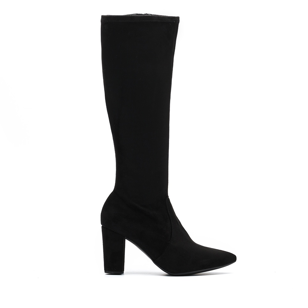 UNISA Pointy toe boots with heel TALMO_ST black 2