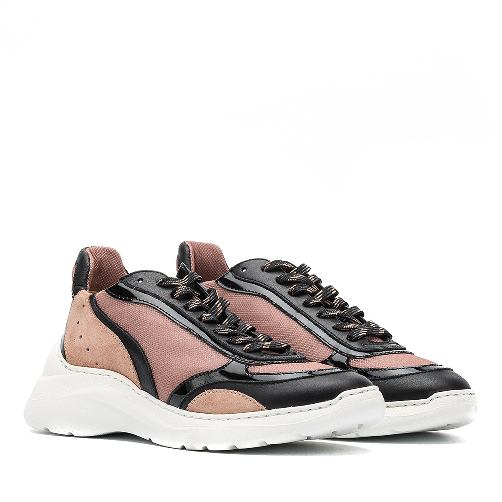 UNISA Contrast multi-colour sneaker ESCACE_MULTI black/roxe 2