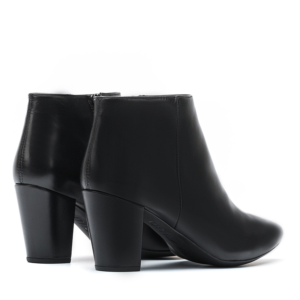 UNISA Black leather shooties KISNER_NA black 2
