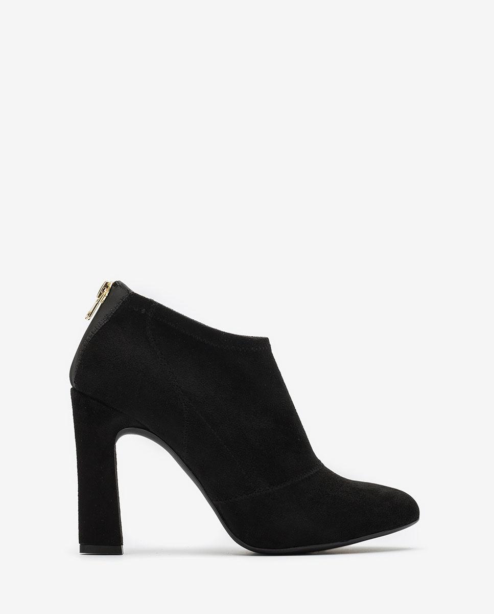 UNISA Black heeled shooties PERE_STL black 2