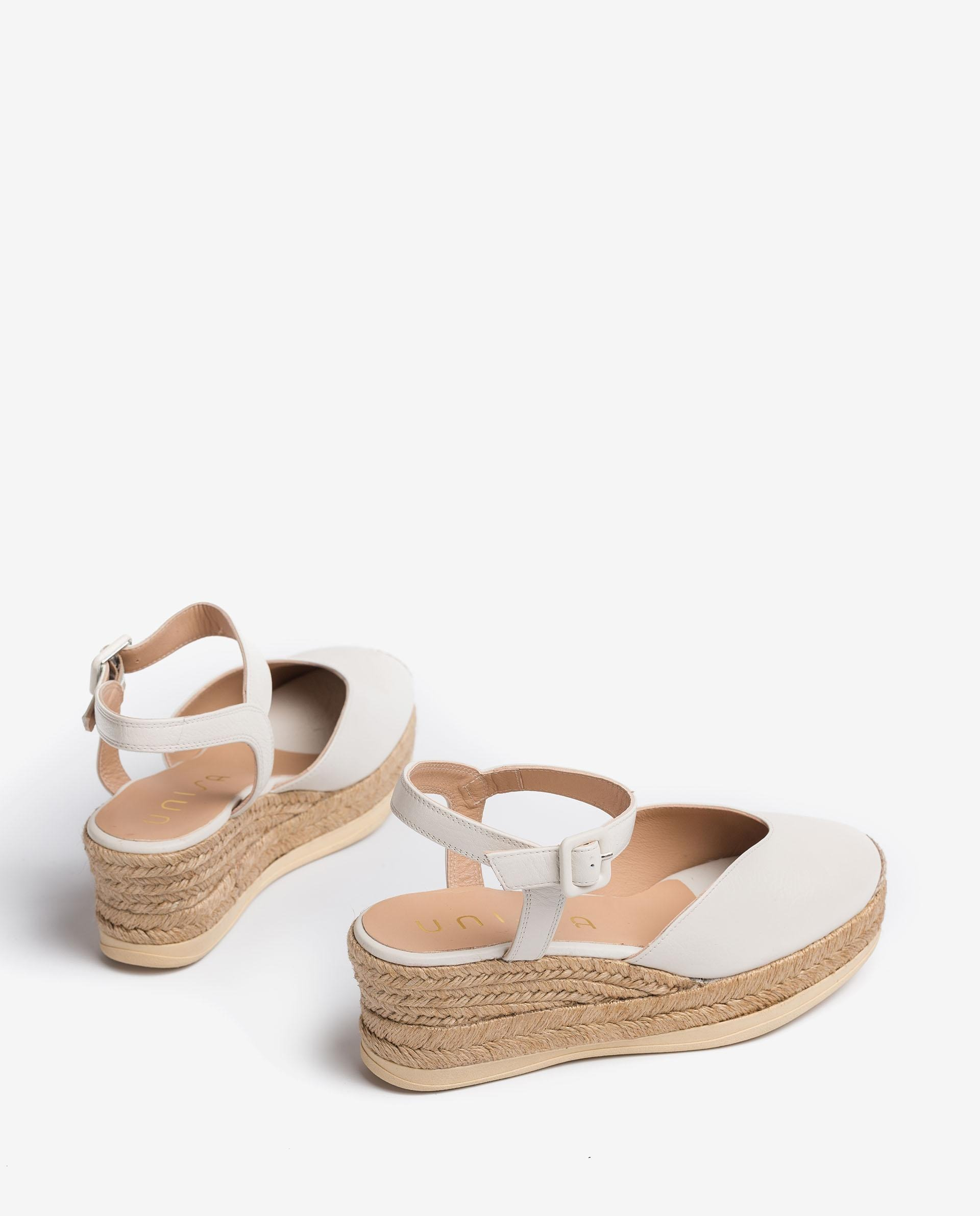 UNISA Leather espadrilles CEINOS_CRE 2