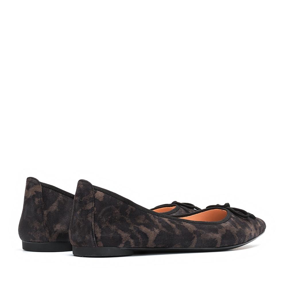 UNISA Pointy toe animal print ballerina ARENY_F19_JA rhino 2