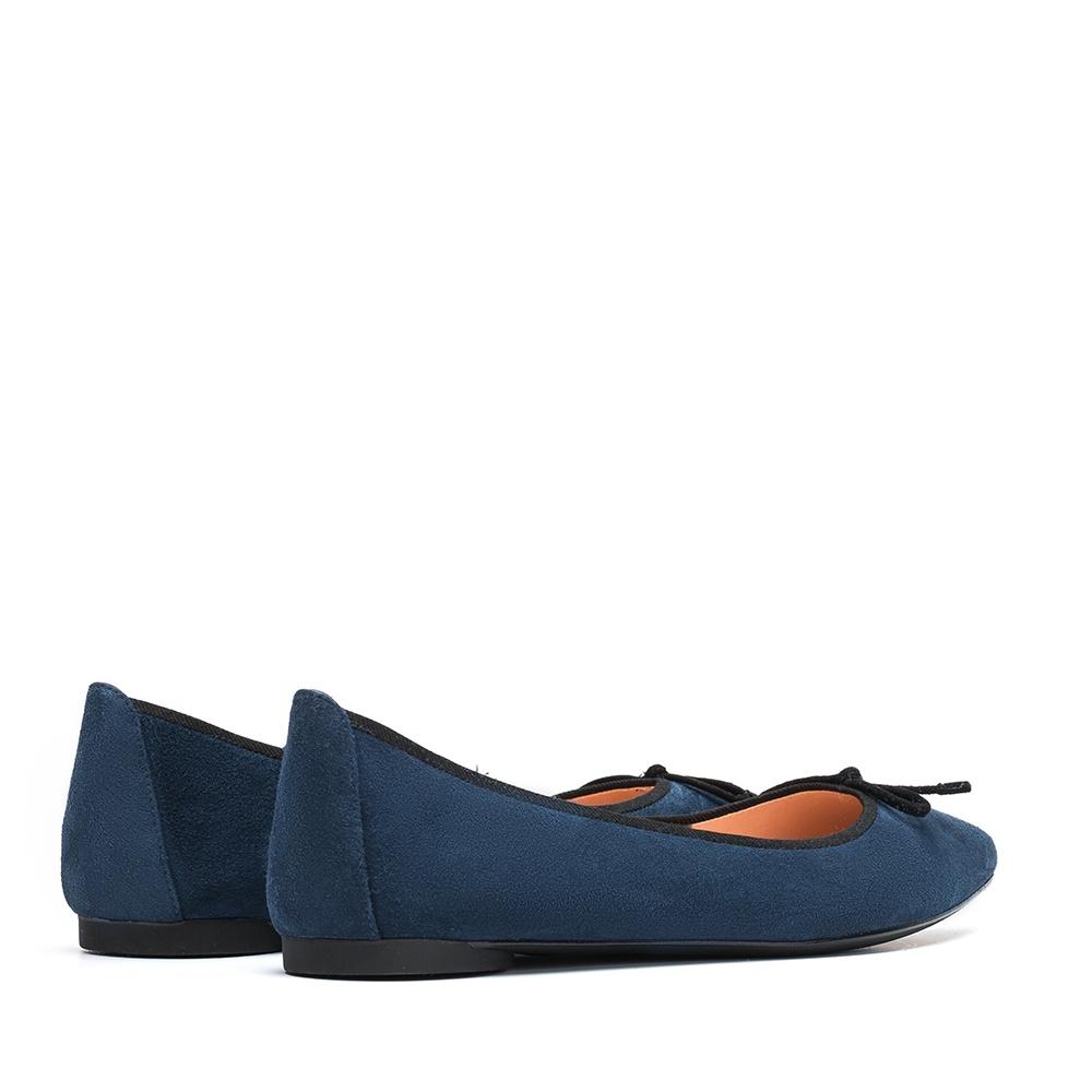 UNISA Pointy toe blue ballerina ARENY_F19_KS dark jeans 2