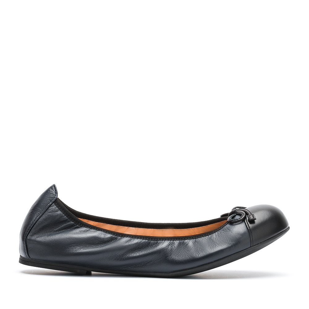 UNISA Contrast color ballerina AUTO_F19_NA abyss/blk 2