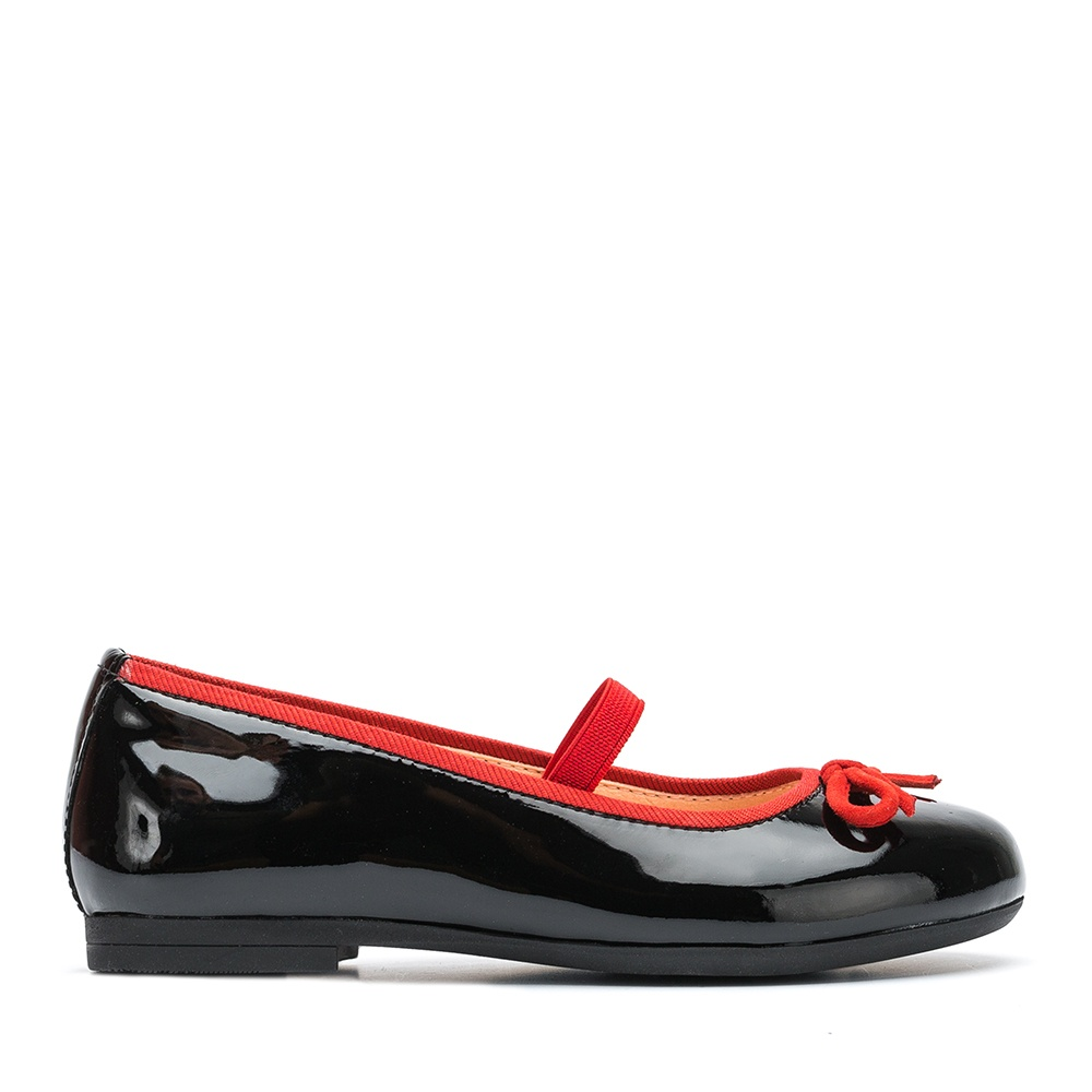 UNISA Patent leather Mary Janes bow CILKA_PA black 2