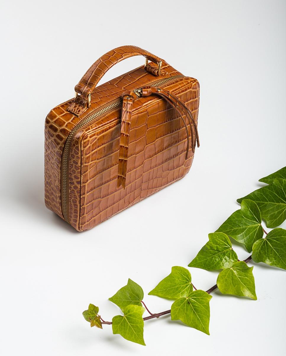 UNISA Box bag with handle ZBELE_CRW bisquit 2