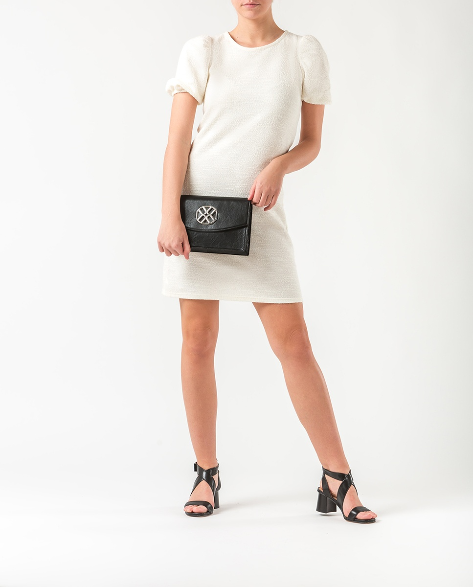 UNISA Monogram shoulder bag ZIGUAL_GCR black 2