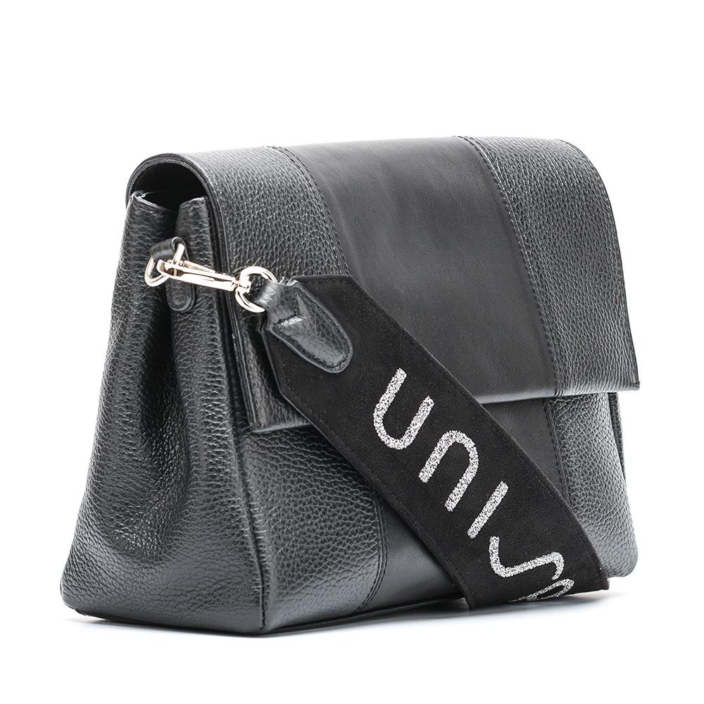 UNISA Unisa handle handbag ZLOTO.UNISA_MM black 2